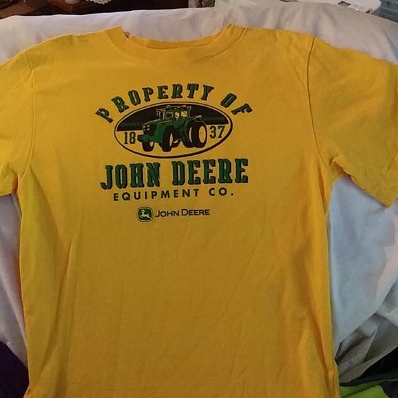 John Deere Other - L 14/16 Unisex John Deere T-shirt (tA1)